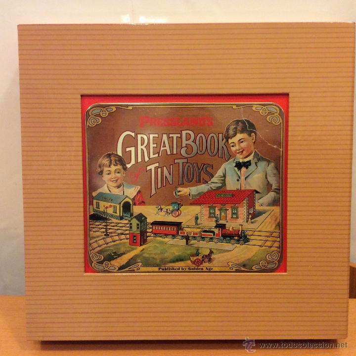 Juguetes antiguos: LIBRO GREAT BOOK TIN TOYS DAVID PRESSLAND 1995 - Foto 2 - 46469765