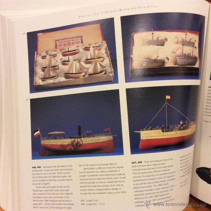 Juguetes antiguos: LIBRO GREAT BOOK TIN TOYS DAVID PRESSLAND 1995 - Foto 9 - 46469765
