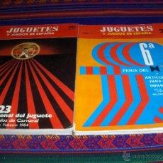 Juguetes antiguos: JUGUETES Y JUEGOS DE ESPAÑA 86 MAYO 1983 DE REGALO Nº 20 FEBERO 1967. MUY DIFÍCIL!!!!!. Lote 46673829