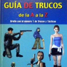 Juguetes antiguos: LIBRO GUIA TRUCOS PLAY STATION ONE PS1. Lote 46942867