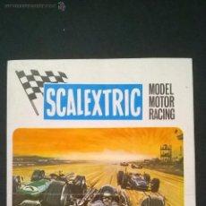 Juguetes antiguos: CATALOGO SCALEXTRIC MODEL MOTOR RACING AÑO 1969. Lote 48126867