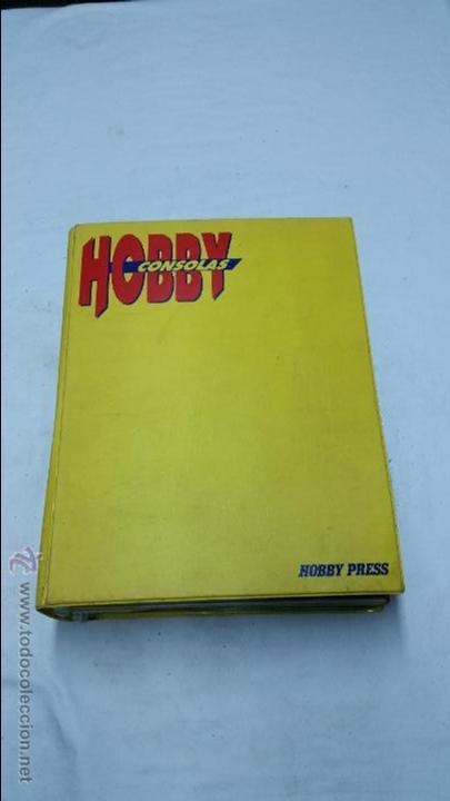 LIBRO DE REVISTAS HOBBYCONSOLAS ANTIGUO,AÑO 1991 (Juguetes - Catálogos y Revistas de Juguetes)