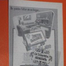 Juguetes antiguos: PUBLICIDAD 1955 - COLECCION JUGUETES - GEYPER JUEGOS REUNIDOS. Lote 48475224