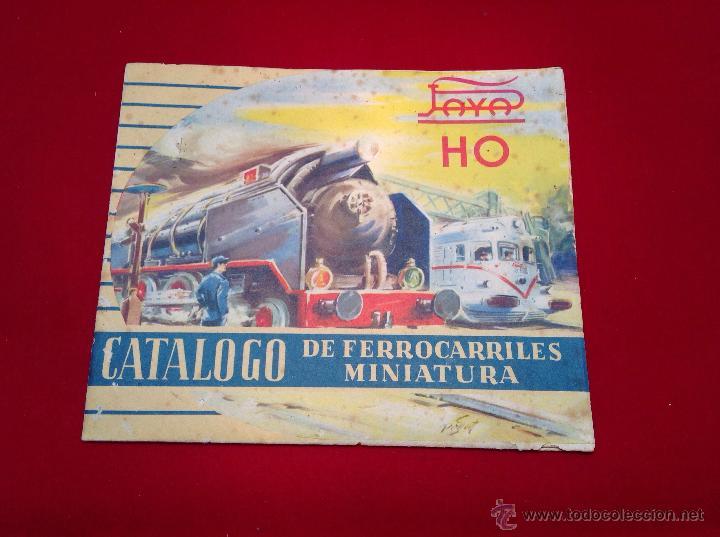 PAYA HO CATALOGO DE FERROCARRILES EN MINIATURA (Juguetes - Catálogos y Revistas de Juguetes)