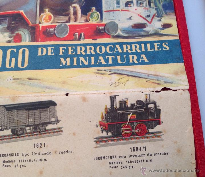 Juguetes antiguos: PAYA HO CATALOGO DE FERROCARRILES EN MINIATURA - Foto 4 - 48642777