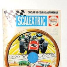 Juguetes antiguos: CATALOGO SCALEXTRIC 1968-1969 MECCANO TRI-ANG ESCRITO EN FRANCES. Lote 48686362