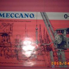 Juguetes antiguos: CATALOGO MECCANO 0-1 - AÑO 1962 - 01/62 ENGLISH-ESPAÑOL-PORTUGUES-SVENK-NORSK - PRINTED IN ENGLAND. Lote 113155382