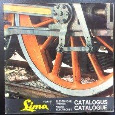 Juguetes antiguos: CATALOGO DE TRENES LIMA AÑO 1966-67 - EN FRANCES Y ALEMAN.. Lote 48755060
