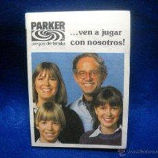 Juguetes antiguos: CATALAGO DE JUGUETES PARKER. Lote 48756056
