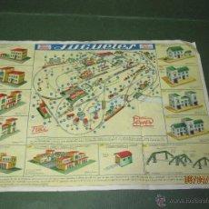Juguetes antiguos: ANTIGUO CATALOGO Nº 2 CONSTRUCCIONES PARA FERROCARRILES DE PAYÁ. Lote 48783914