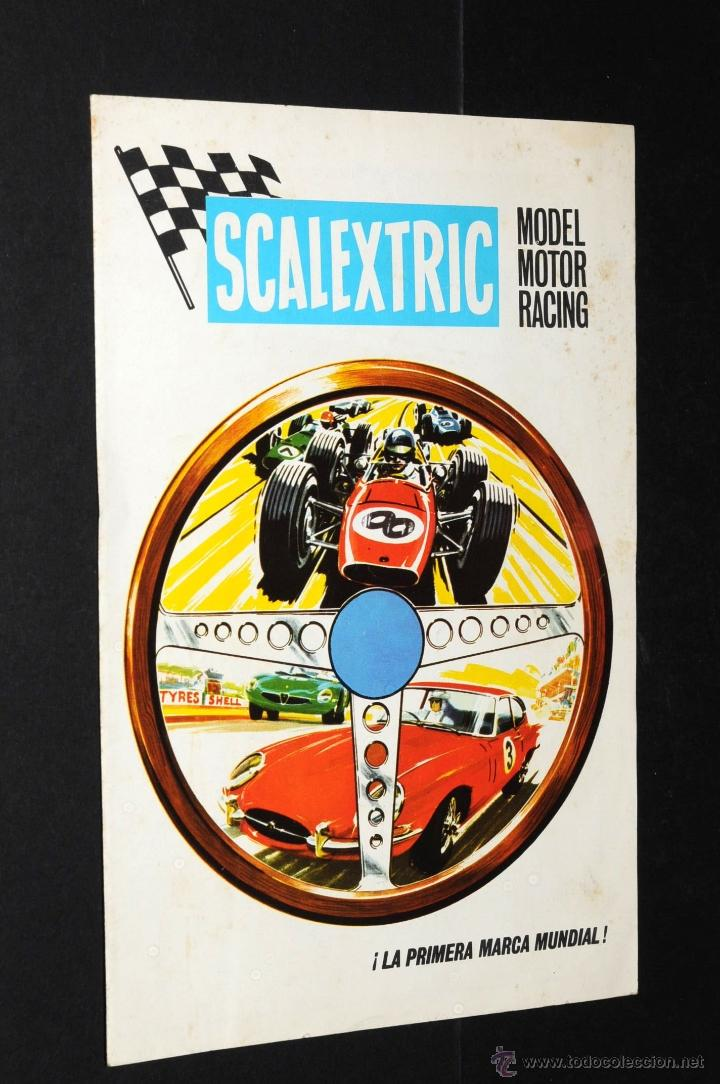 Juguetes antiguos: CATALOGO SCALEXTRIC MODEL MOTOR RACING 1968 - Foto 1 - 48808475