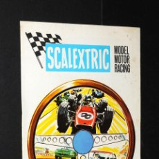 Juguetes antiguos: CATALOGO SCALEXTRIC MODEL MOTOR RACING 1968. Lote 48808475