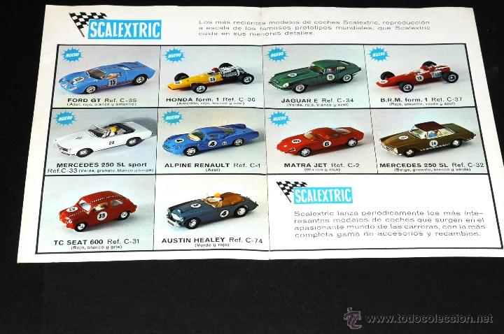 Juguetes antiguos: CATALOGO SCALEXTRIC MODEL MOTOR RACING 1968 - Foto 2 - 48808475