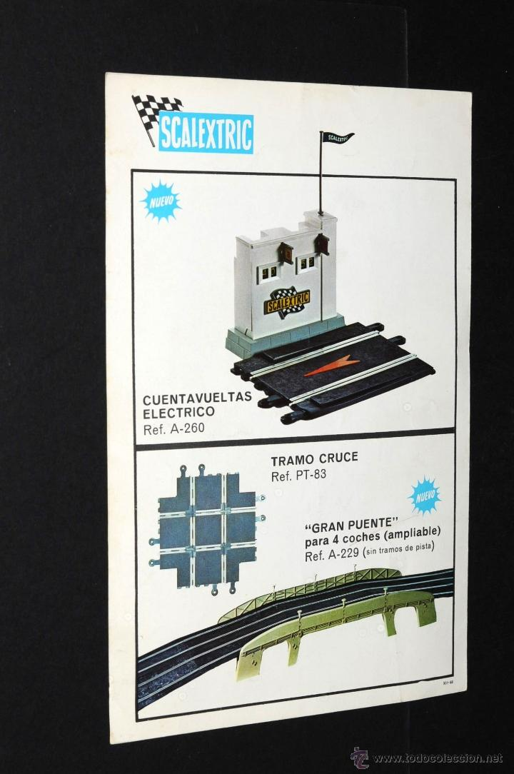 Juguetes antiguos: CATALOGO SCALEXTRIC MODEL MOTOR RACING 1968 - Foto 3 - 48808475