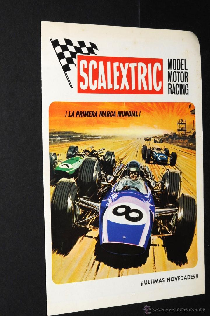 Juguetes antiguos: CATALOGO SCALEXTRIC MODEL MOTOR RACING VI-70 - Foto 1 - 48808675