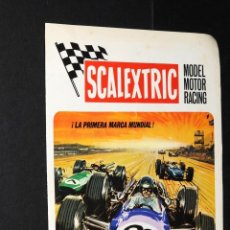 Juguetes antiguos: CATALOGO SCALEXTRIC MODEL MOTOR RACING VI-70. Lote 48808675