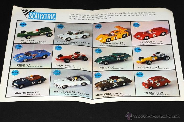 Juguetes antiguos: CATALOGO SCALEXTRIC MODEL MOTOR RACING VI-70 - Foto 2 - 48808675