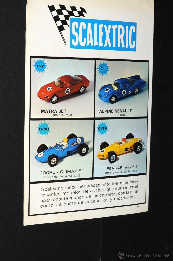 Juguetes antiguos: CATALOGO SCALEXTRIC MODEL MOTOR RACING VI-70 - Foto 3 - 48808675