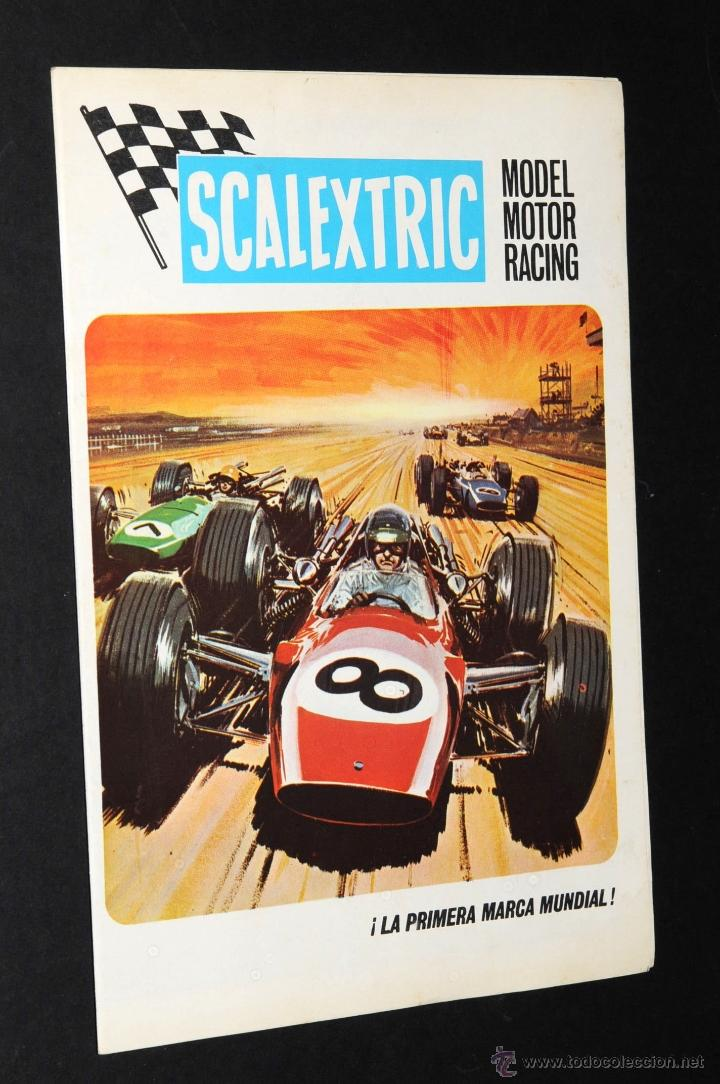 Juguetes antiguos: CATALOGO SCALEXTRIC MODEL MOTOR RACING 1969 - Foto 1 - 48824172