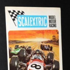 Juguetes antiguos: CATALOGO SCALEXTRIC MODEL MOTOR RACING 1969. Lote 48824172