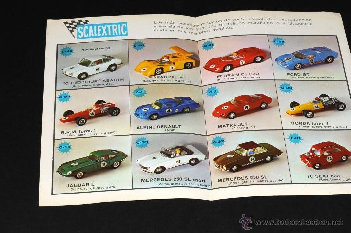 Juguetes antiguos: CATALOGO SCALEXTRIC MODEL MOTOR RACING 1969 - Foto 2 - 48824172