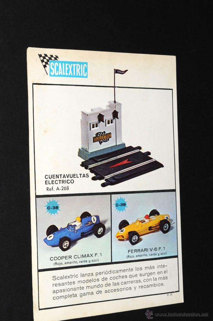 Juguetes antiguos: CATALOGO SCALEXTRIC MODEL MOTOR RACING 1969 - Foto 3 - 48824172