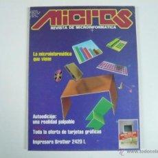 Juguetes antiguos: REVISTA INFORMÁTICA MICROS Nº 38. Lote 48893012