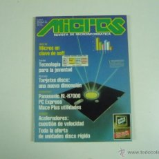 Juguetes antiguos: REVISTA INFORMÁTICA MICROS Nº 35. Lote 48893034