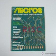Juguetes antiguos: REVISTA INFORMÁTICA MICROS Nº 28. Lote 48893059