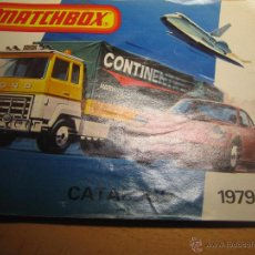 Juguetes antiguos: MATCHBOX, CATALOGO 1979-80 EN ESPAÑOL - REF. 79-1. Lote 49051547