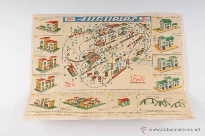 Juguetes antiguos: CATALOGO DESPLEGABLE PAYA RAI Nº 2 CONSTRUCCIONES PARA FERROCARRILES - Foto 2 - 49054998