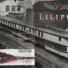Juguetes antiguos: CATÁLOGO LILIPUT 1999 HO GLEICHSTROM - EN ALEMÁN, INGLÉS Y FRANCÉS. Lote 49147951