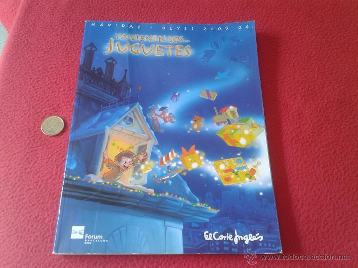 Catalogo de juguetes y videojuegos 2003 2004 na comprar - El corte ingles catalogos ...