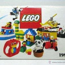 Juguetes antiguos: CATALOGO LEGO 1984. Lote 49446907