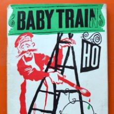 Juguetes antiguos: BABY TRAIN HO - CATALOGO DE TRENES - AÑOS SESENTA - 1966 - 96 PAGINAS. Lote 49605978