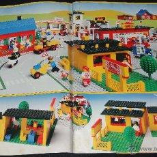 Juguetes antiguos: REVISTA IDEAS LEGO - AÑOS 70/80 -. Lote 49613594