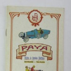 Juguetes antiguos: CATALOGO DE JUGUETES PAYA. Lote 49649771