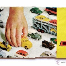 Juguetes antiguos: CATALOGO DE MINI CARS ANGUPLAS AÑO 1964 EN BLANCO Y NEGRO. Lote 50221793