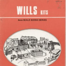 Juguetes antiguos: CATÁLOGO WILLS KITS 1979 ? 4MM SCALE SCENIC SERIES 2ND EDITION - EN INGLÉS . Lote 50553333