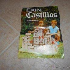 Juguetes antiguos: CATALOGO DE EXIN CASTILLOS AÑOS 70 VER FOTOS EL CID - JAIME I- DON SANCHO - GUZMAN EN BUENO , ETC .. Lote 189295602
