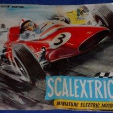 Juguetes antiguos: CATÁLOGO SCALEXTRIC - SCALEXTRIC (1964). Lote 51323814