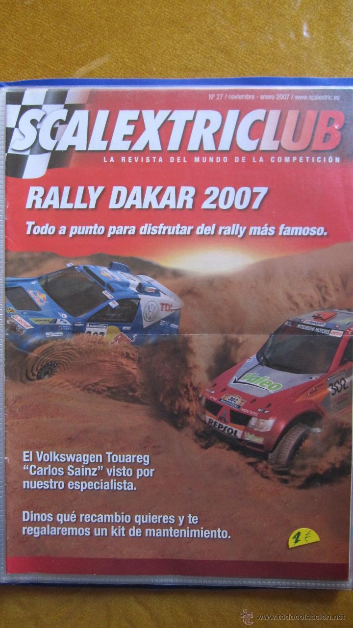 REVISTA DEL CLUB SCALEXTRIC AÑO 2007 NUMERO 27 . (Juguetes - Catálogos y Revistas de Juguetes)