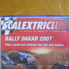 Juguetes antiguos: REVISTA DEL CLUB SCALEXTRIC AÑO 2007 NUMERO 27 .. Lote 51405873