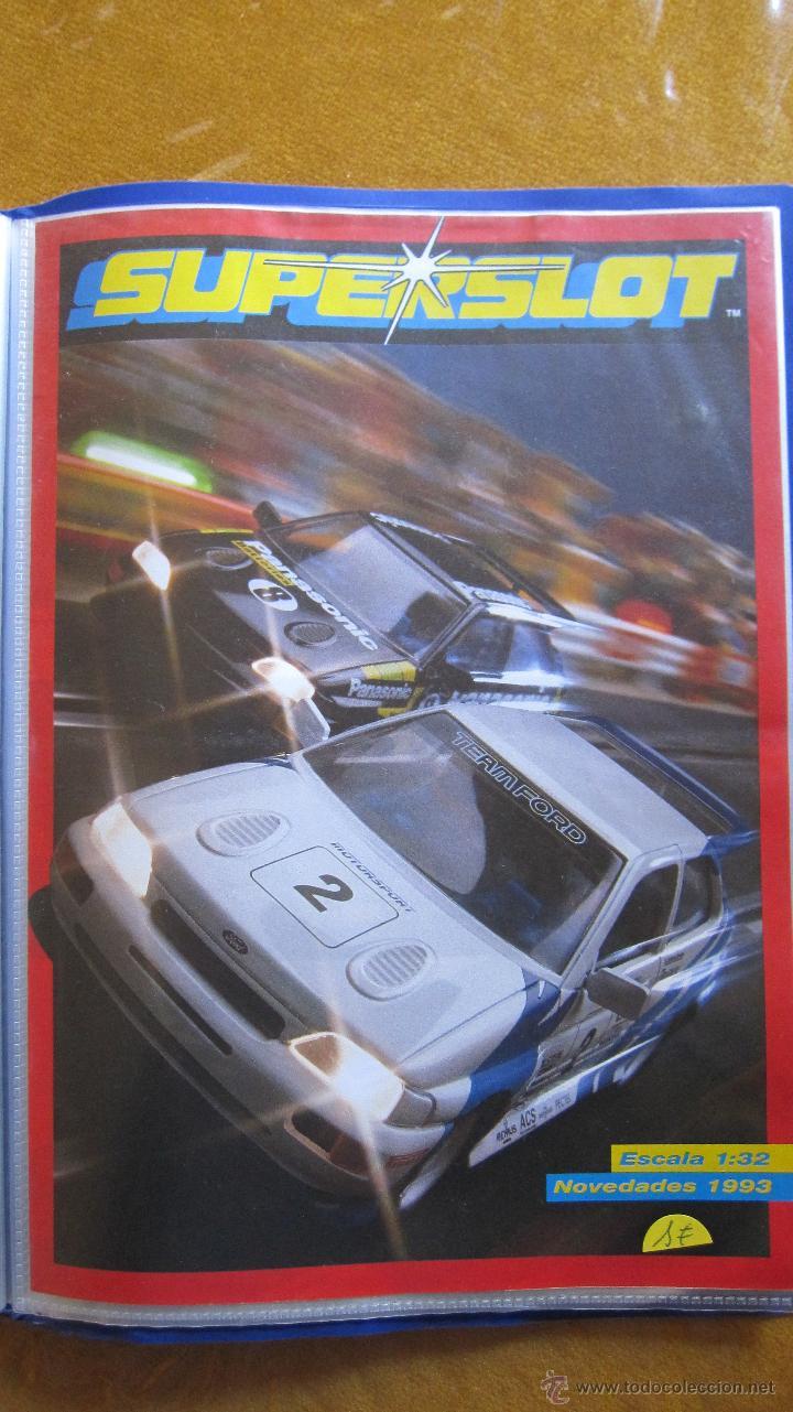 CATALOGO SCALEXTRIC INGLATERRA, SUPERSLOT. AÑO 1993 . (Juguetes - Catálogos y Revistas de Juguetes)