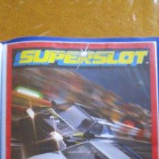 Juguetes antiguos: CATALOGO SCALEXTRIC INGLATERRA, SUPERSLOT. AÑO 1993 .. Lote 51405996