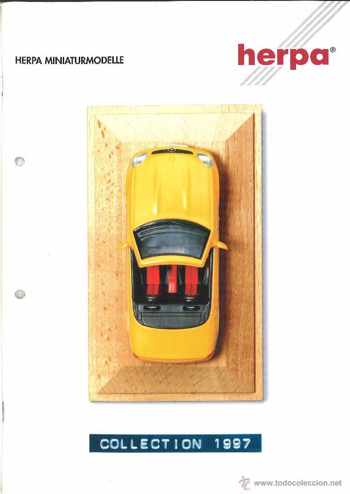 CATÁLOGO HERPA 1997 (Juguetes - Catálogos y Revistas de Juguetes)