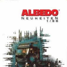 Juguetes antiguos: CATÁLOGO ALBEDO 1 / 98 - 1:87 / HO. Lote 51564118