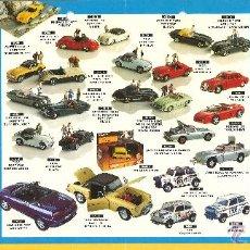 Juguetes antiguos: CUADRÍPTICO CORGI 1996. Lote 51567587