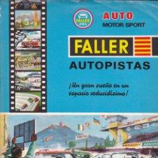 CATALOGO FALLER