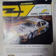 Juguetes antiguos: FICHA SCALEXTRIC OPEL VECTRA SUPERSLOT. Lote 51612965